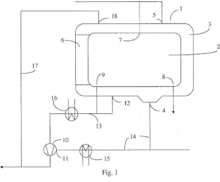 Método y dispositivo para refrigerar un esterilizador.