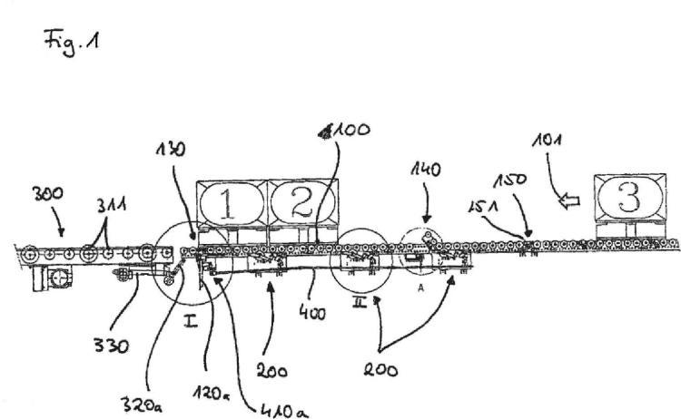 Módulo transportador de rodillos para un sistema transportador de rodillos accionado por gravedad y método para el control de la velocidad.