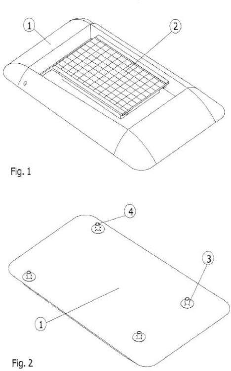 Dispositivo eléctrico de autogeneración, en especial techo para carritos de golf con un sistema de placas solares.