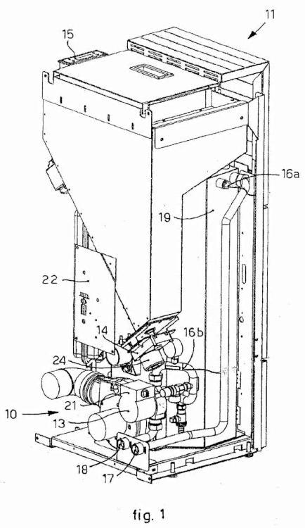 Aparato y método para optimizar el funcionamiento de una caldera para calentar agua.