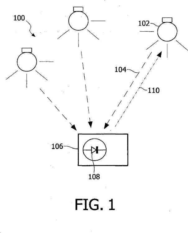 Asignación eficaz de direcciones en sistemas de iluminación codificada.