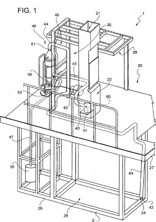 Máquina de envase y método para producir envases sellados de un producto alimenticio a partir de una cinta de un material de envase.
