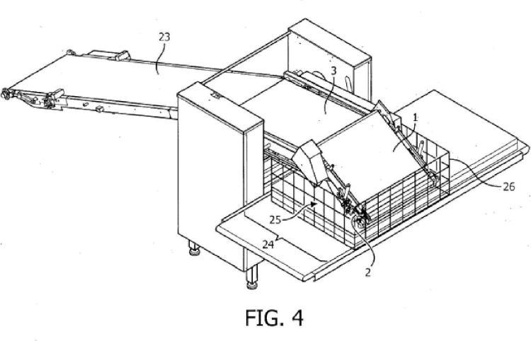 Dispositivo y método para laminación de masa.