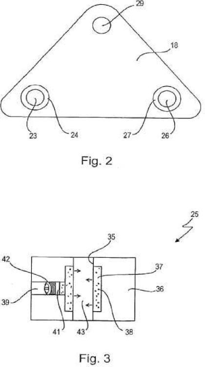 Horquilla de rueda delantera para motocicletas.