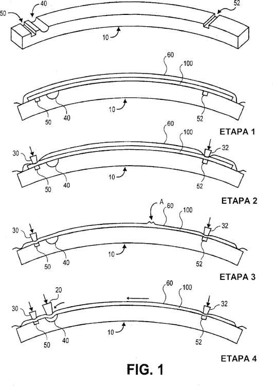 Dispositivo de tensado para estructuras compuestas.