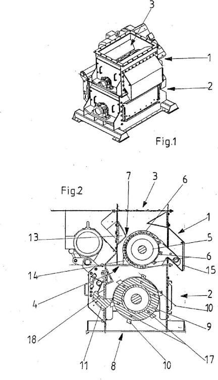 Instalación de máquinas para la preparación de frutos del campo.