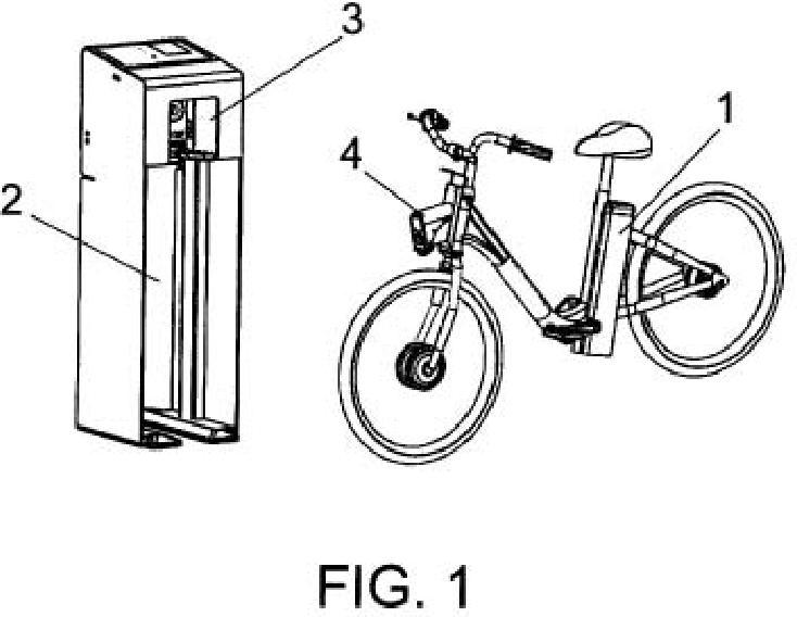 Sistema de anclaje y recarga para bicicletas eléctricas de alquiler.