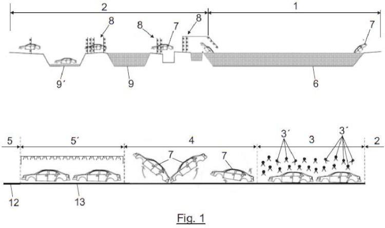 Procedimiento e instalación para pintado de estructuras de chapa.