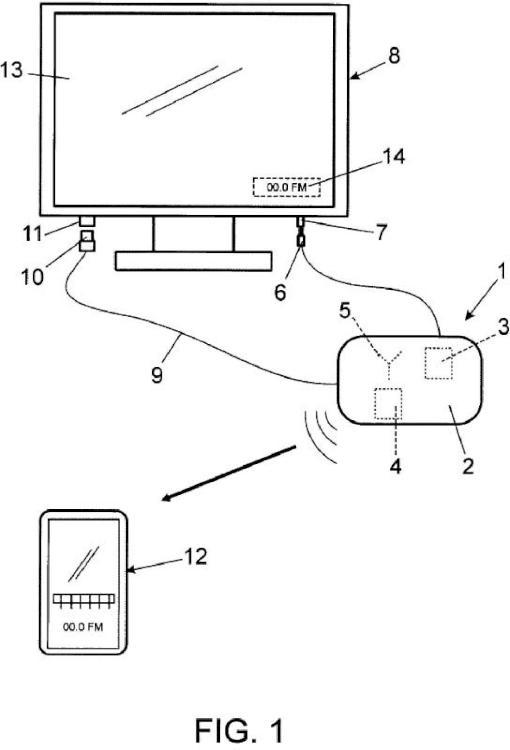 Aparato electrónico de escucha inalambrica para televisores y otros aparatos reproductores de imagen y sonido mediante transmisión por radio.