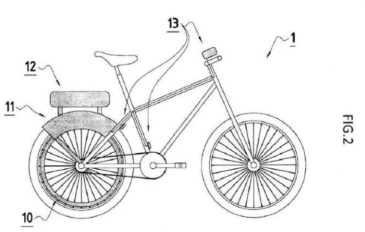 Bicicleta eléctrica regenerativa.