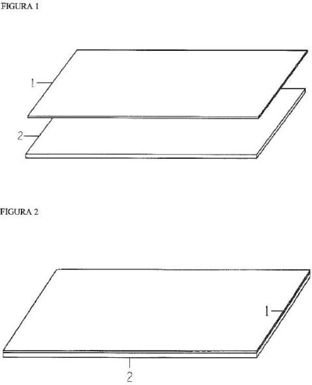Estratificado para encimeras compuesto por una base de mármol o cuarzo sintético y una superficie porcelánica.