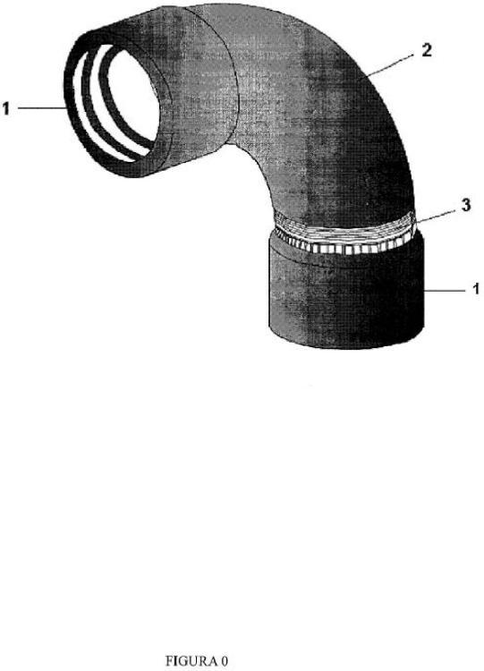 Codo pvc, por la unión de tubos corrugados de electricidad.