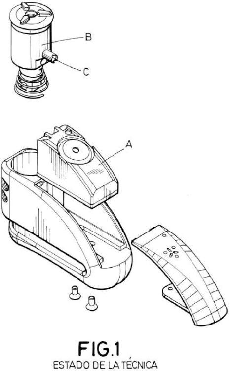 Dispositivo antirrobo para vehículos.