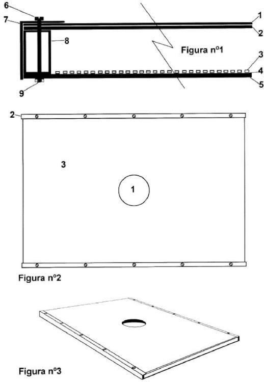 Panel de iluminación led polarizado para la reproducción fotografica de objetos.
