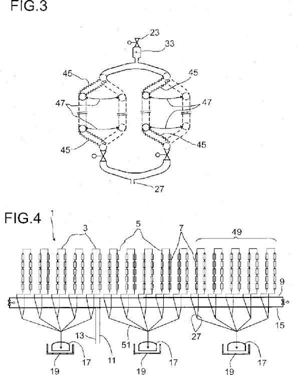 Sistema de tubería y procedimiento para vaciar un sistema de tubería.