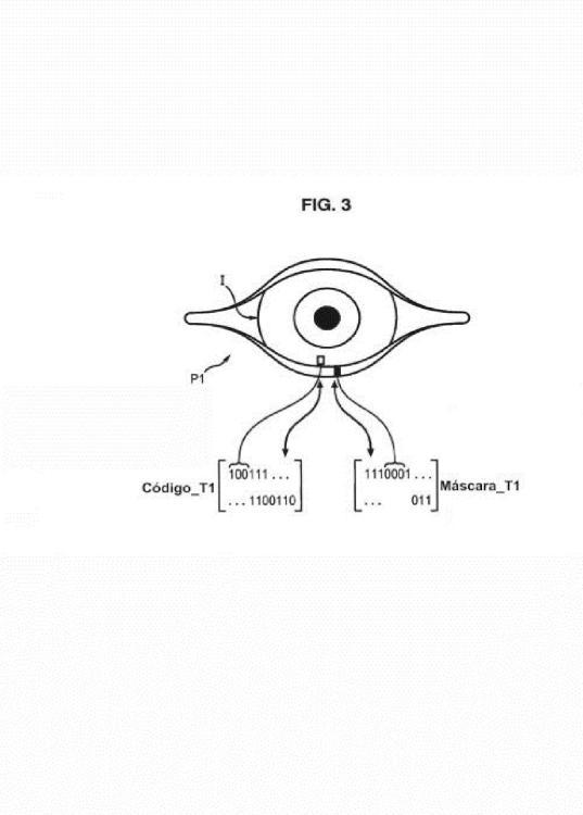 Identificación por reconocimiento de iris.
