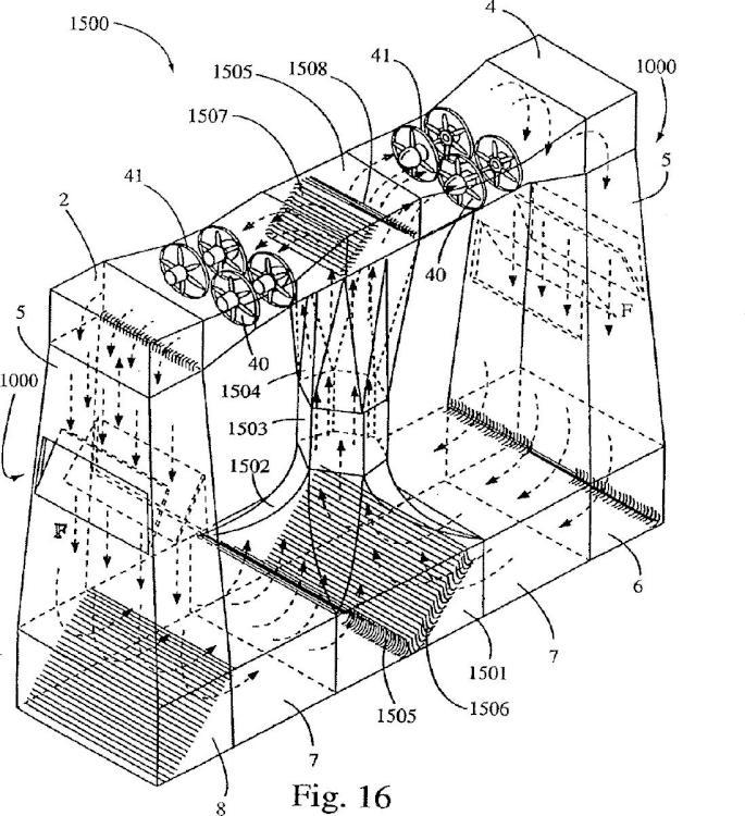 Simulador de caída libre de túnel de viento.