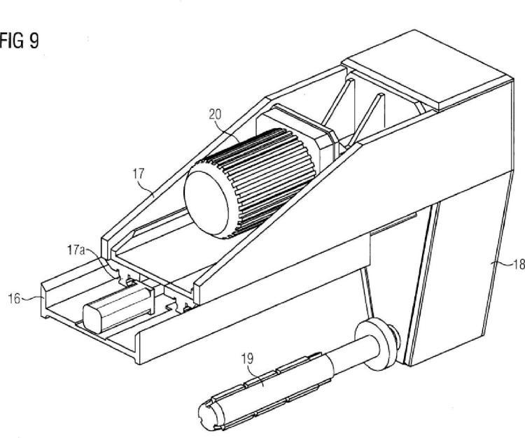 Dispositivo de mecanización de taladros de acoplamiento.