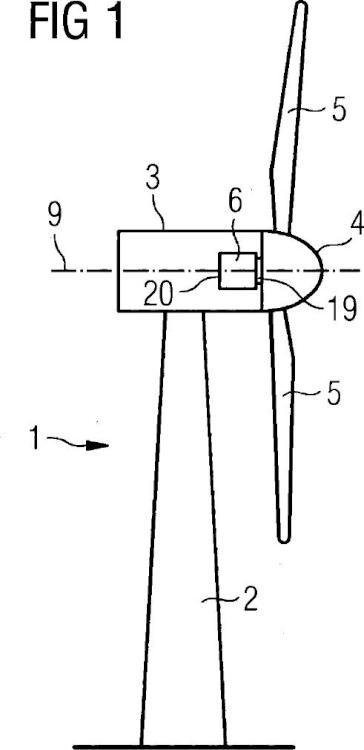 Sistema de freno para una turbina eólica.