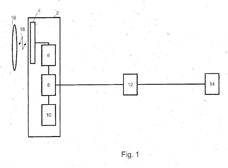 Dispositivo de lectura de transpondedor.