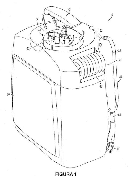 Sistema de distribución de fluidos.