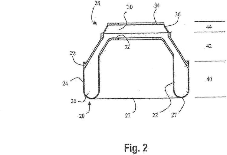 Método para la fabricación de una estructura hueca.
