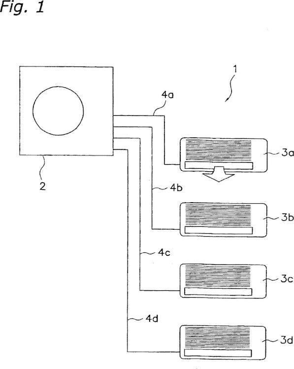 Acondicionador de aire y procedimiento de control de un acondicionador de aire.