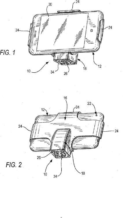 Disposición de montaje con contrapeso para sostener de manera equilibrada un dispositivo de captura de imágenes sensible al movimiento.
