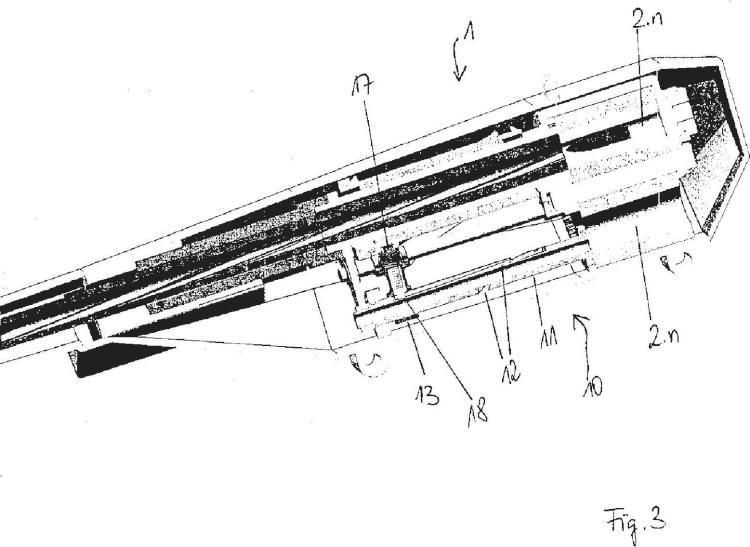 Accionamiento de tambor y de munición de un arma de tambor.