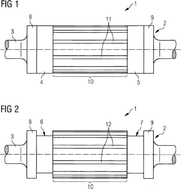 Rotor de jaula para una máquina asincrónica y procedimiento para producir el rotor de jaula.
