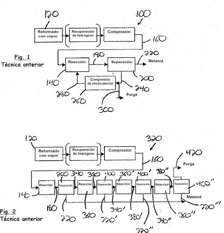 Sistema de producción química en varios reactores.