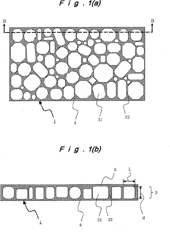 Membrana de poliimida porosa y procedimiento para la producción de la misma.