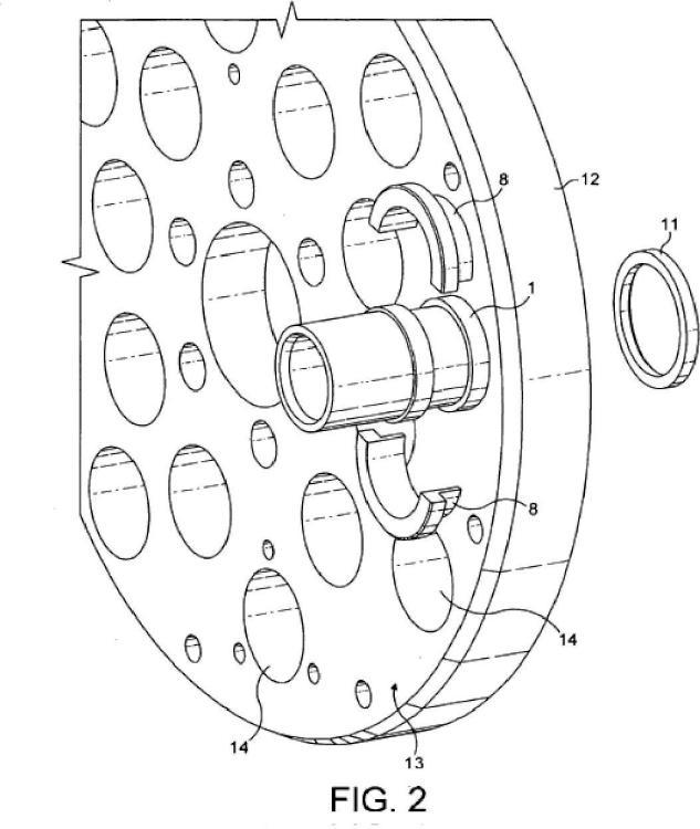 Acoplador hidráulico submarino.