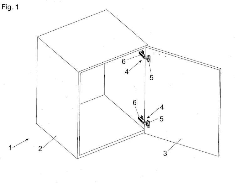 Dispositivo de amortiguación para piezas móviles de muebles.