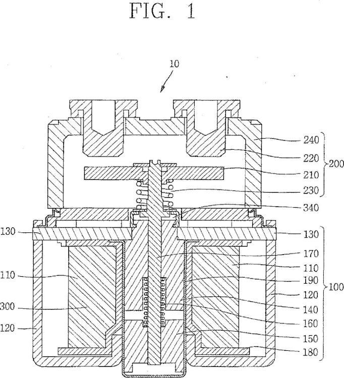 Conmutador electromagnético de tipo reductor de ruido.