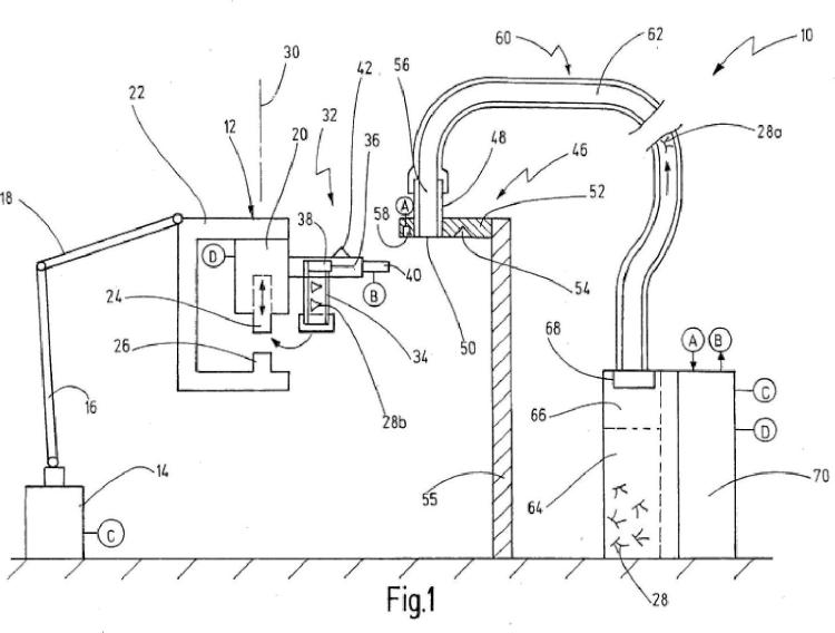 Método y dispositivo para la alimentación de elementos de fijación.
