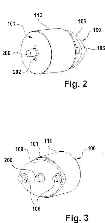 Rodillo de transporte con freno y regulador de la inhibición.
