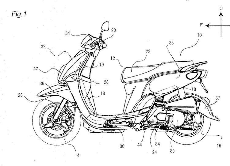 Motor y vehículo del tipo de montar a horcajadas y método de montar la cadena.