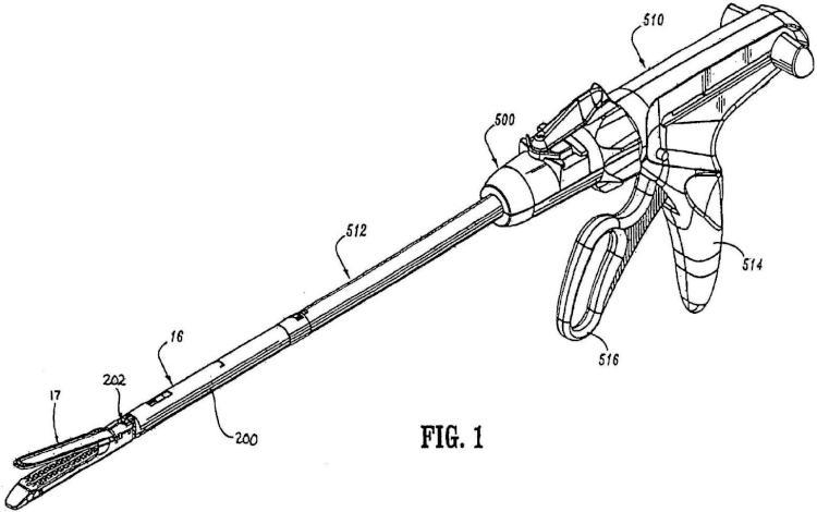 Instrumento quirúrgico que incluye un conjunto de bloqueo.