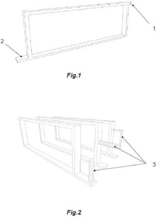Estructura o disposición de los cuadros para panales de…