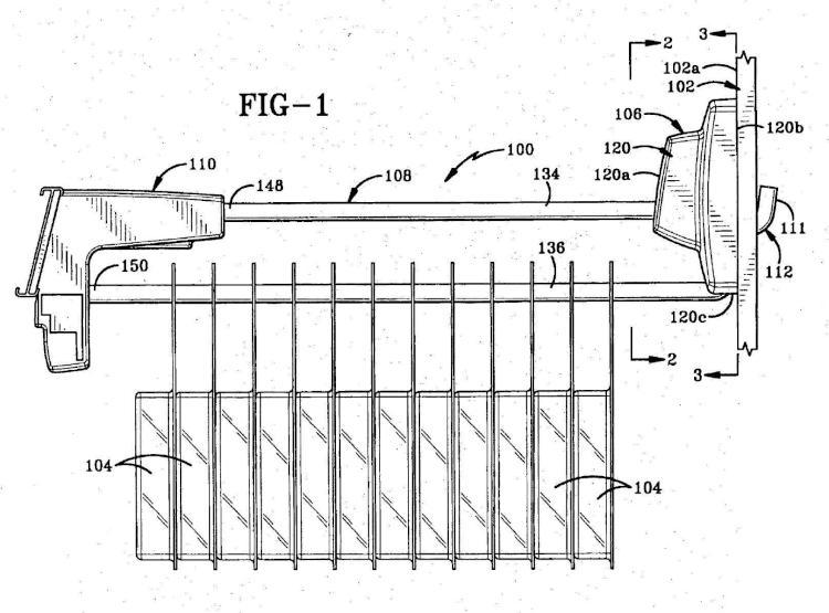 Dispositivo de seguridad para fijar un gancho de clavija a un soporte de clavija.
