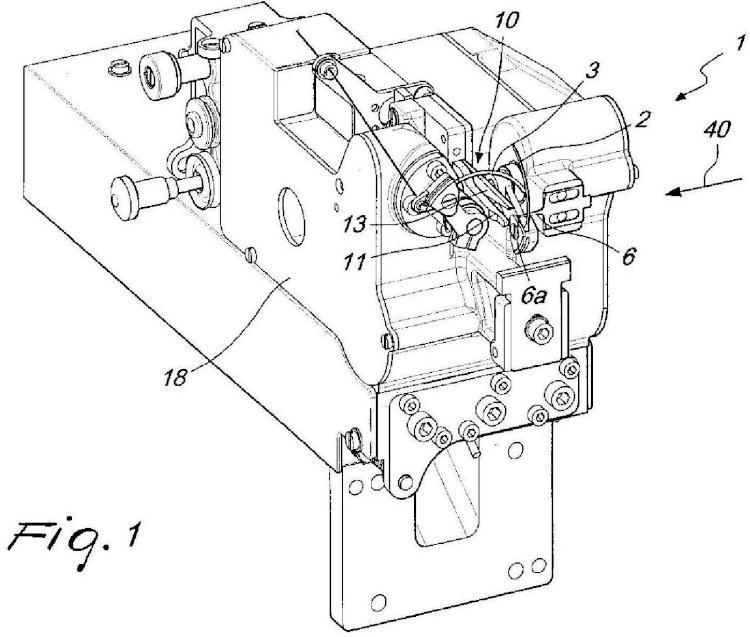 Cabeza de cosido o mallado, en particular para el cierre automatizado de artículos tricotados tubulares en un extremo axial de los mismos.