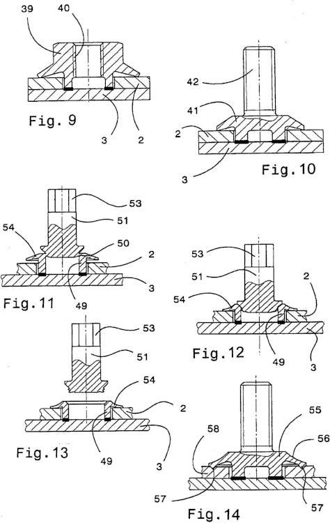 Unión de soldadura por rozamiento, con varias piezas planas dispuestas una encima de otra y con un cuerpo de conexión, con deformación de una valona del cuerpo de conexión después de la soldadura por rozamiento; procedimiento para la fabricación de dicha unión de soldadura por rozamiento.