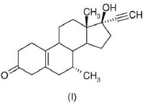 Proceso para la preparación en forma cristalina de tibolona, (7 alfa, 17 alfa)-17-hidroxi-7-metil-19-norpregn-5(10)-en-20-in-3-ona.