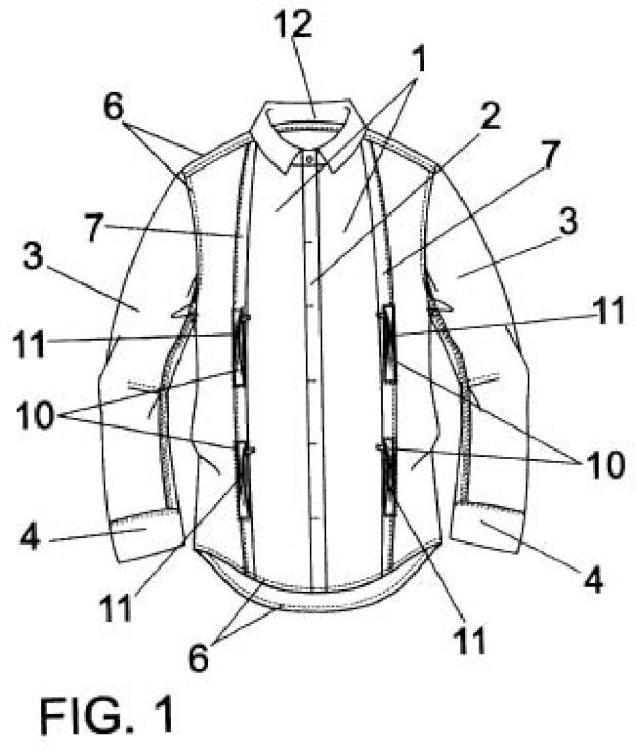 Prenda de vestir para la parte superior del cuerpo.
