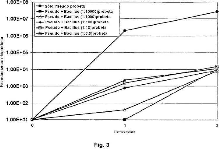 Prevención y reducción de la formación de biopelícula y proliferación planctónica.