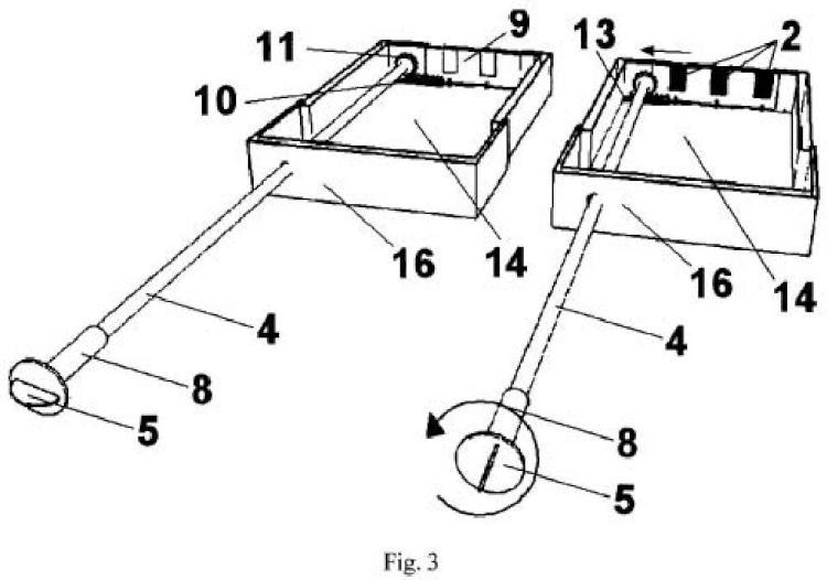 Dispositivo para ventilación de fachadas de dos hojas con cámara interna de aire.