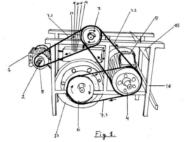 Generador eléctrico autonomo.