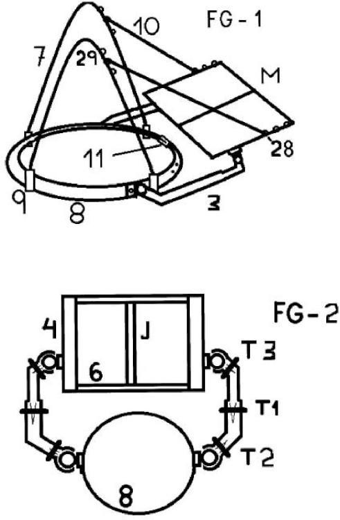 Soporte adaptable para portátil.