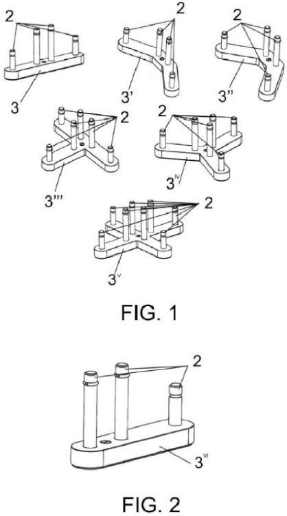 Dispositivo de ensamble de paneles separadores.